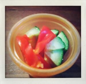 road veggie cup